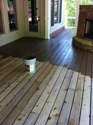 Deck Stain and Exterior Trim