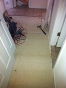 Tile Floors & Stair Tred Install