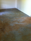 Travertine Tile Floor and Tile Shower Walls Install